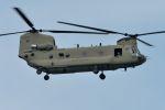 うめやしきさんが、厚木飛行場で撮影したアメリカ陸軍 CH-47Fの航空フォト(飛行機 写真・画像)