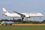 sky-spotterさんが、成田国際空港で撮影した日本航空 787-9の航空フォト(写真)