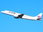 むらさめさんが、新千歳空港で撮影したジェイ・エア ERJ-190-100(ERJ-190STD)の航空フォト(写真)