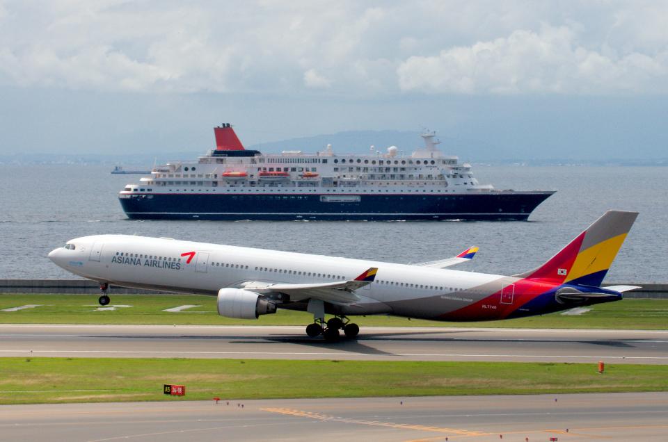 yabyanさんのアシアナ航空 Airbus A330-300 (HL7740) 航空フォト