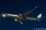 遠森一郎さんが、福岡空港で撮影した大韓航空 777-3B5/ERの航空フォト(写真)
