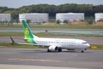 KAZFLYERさんが、成田国際空港で撮影した春秋航空日本 737-8ALの航空フォト(飛行機 写真・画像)