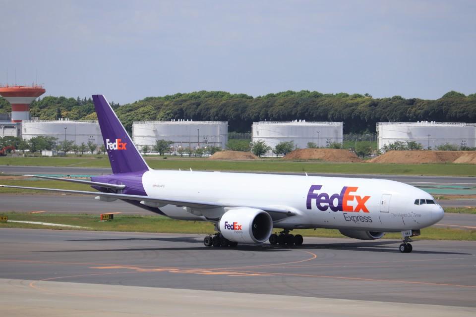 KAZFLYERさんのフェデックス・エクスプレス Boeing 777-200 (N854FD) 航空フォト