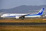 ishikenさんが、伊丹空港で撮影した全日空 787-9の航空フォト(写真)