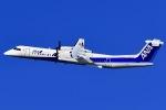 ishikenさんが、伊丹空港で撮影したANAウイングス DHC-8-402Q Dash 8の航空フォト(写真)