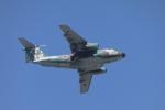 とりてつさんが、習志野演習場で撮影した航空自衛隊 C-1の航空フォト(写真)