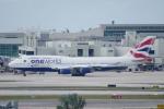 zettaishinさんが、マイアミ国際空港で撮影したブリティッシュ・エアウェイズ 747-436の航空フォト(写真)