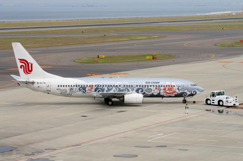 yabyanさんの中国国際航空 Boeing 737-800 (B-5178) 航空フォト