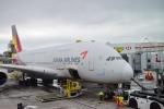 nh002nrtiadさんが、ロサンゼルス国際空港で撮影したアシアナ航空 A380-841の航空フォト(写真)