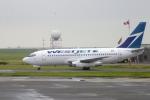 senyoさんが、バンクーバー国際空港で撮影したウェストジェット 737-2E3/Advの航空フォト(写真)