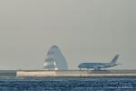 kina309さんが、羽田空港で撮影した全日空 A380-841の航空フォト(写真)