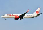 じーく。さんが、福岡空港で撮影したタイ・ライオン・エア 737-8GPの航空フォト(飛行機 写真・画像)