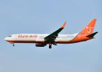 じーく。さんが、福岡空港で撮影したチェジュ航空 737-8BKの航空フォト(写真)