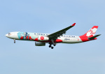 じーく。さんが、福岡空港で撮影したエアアジア・エックス A330-343Xの航空フォト(写真)
