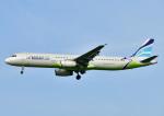 じーく。さんが、福岡空港で撮影したエアプサン A321-232の航空フォト(写真)