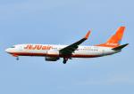 じーく。さんが、福岡空港で撮影したチェジュ航空 737-8ASの航空フォト(写真)