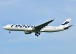 じーく。さんが、福岡空港で撮影したフィンエアー A330-302Xの航空フォト(写真)