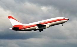 ハミングバードさんが、名古屋飛行場で撮影した日本トランスオーシャン航空 737-205/Advの航空フォト(飛行機 写真・画像)
