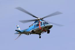 TAKAHIDEさんが、入間飛行場で撮影した埼玉県警察 A109E Powerの航空フォト(写真)