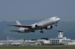 Sasukeninninさんが、熊本空港で撮影した日本航空 767-346の航空フォト(写真)