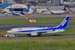 HISAHIさんが、福岡空港で撮影した全日空 737-881の航空フォト(写真)
