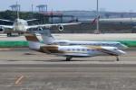 ハム太郎。さんが、羽田空港で撮影したMGMミラージュ G-V Gulfstream Vの航空フォト(写真)