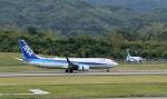 ハム太郎。さんが、高松空港で撮影した全日空 737-881の航空フォト(写真)
