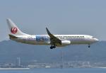 kix-booby2さんが、関西国際空港で撮影した日本トランスオーシャン航空 737-8Q3の航空フォト(写真)
