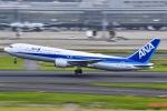 マツさんが、羽田空港で撮影した全日空 767-381の航空フォト(写真)