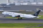 マツさんが、羽田空港で撮影した全日空 767-381/ERの航空フォト(写真)