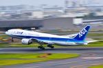 マツさんが、羽田空港で撮影した全日空 777-281/ERの航空フォト(写真)