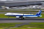 マツさんが、羽田空港で撮影した全日空 A321-211の航空フォト(写真)