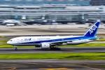 マツさんが、羽田空港で撮影した全日空 777-281の航空フォト(写真)