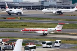 T.Sazenさんが、羽田空港で撮影したプライベートエア G500/G550 (G-V)の航空フォト(写真)