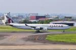 M.Ochiaiさんが、宮崎空港で撮影したカタールアミリフライト A340-313Xの航空フォト(写真)