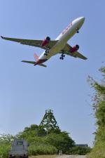 パンダさんが、成田国際空港で撮影したタイ・ライオン・エア A330-343Xの航空フォト(飛行機 写真・画像)
