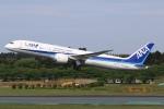 sky-spotterさんが、成田国際空港で撮影した全日空 787-9の航空フォト(写真)