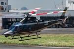まんぼ しりうすさんが、東京ヘリポートで撮影した警視庁 A109S Trekkerの航空フォト(写真)