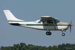 まんぼ しりうすさんが、調布飛行場で撮影した川崎航空 TU206G Turbo Stationair 6 IIの航空フォト(写真)