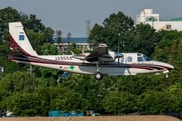 T spotterさんが、調布飛行場で撮影したアジア航測 695 Jetprop 980の航空フォト(飛行機 写真・画像)