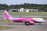 KAZFLYERさんが、成田国際空港で撮影したピーチ A320-214の航空フォト(写真)