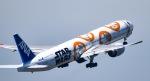 マツさんが、成田国際空港で撮影した全日空 777-381/ERの航空フォト(写真)