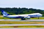 マツさんが、成田国際空港で撮影した日本貨物航空 747-8KZF/SCDの航空フォト(写真)