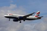 Musondaさんが、ロンドン・ヒースロー空港で撮影したブリティッシュ・エアウェイズ A320-232の航空フォト(写真)