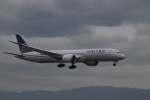 K777&787さんが、関西国際空港で撮影したユナイテッド航空 787-9の航空フォト(写真)
