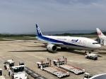 ✈︎Love♡ANA✈︎さんが、長崎空港で撮影した全日空 777-281/ERの航空フォト(写真)