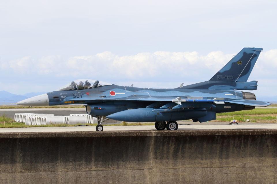 mocohide☆さんの航空自衛隊 Mitsubishi F-2A (53-8531) 航空フォト