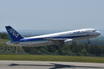 美月推しさんが、能登空港で撮影した全日空 A320-211の航空フォト(写真)