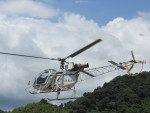 ランチパッドさんが、静岡ヘリポートで撮影したアカギヘリコプター SA315B Lamaの航空フォト(写真)