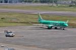 じーのさんさんが、八丈島空港で撮影したフジドリームエアラインズ ERJ-170-200 (ERJ-175STD)の航空フォト(写真)